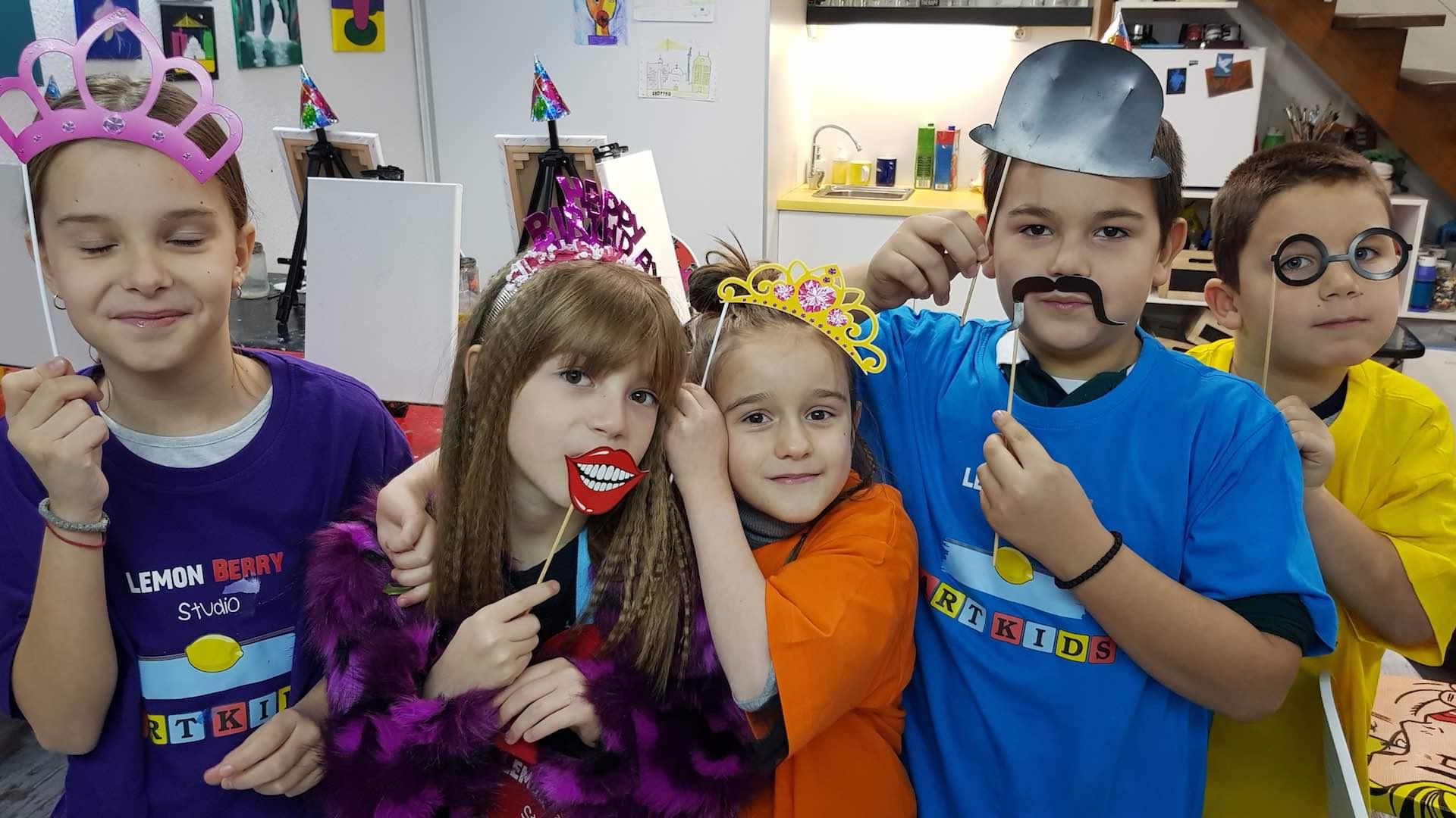 Dečiji rođendan maske