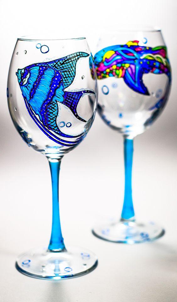 Slikanje na čašama