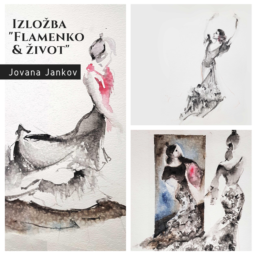 Izložba Jovana Jankov - Flamenko i život
