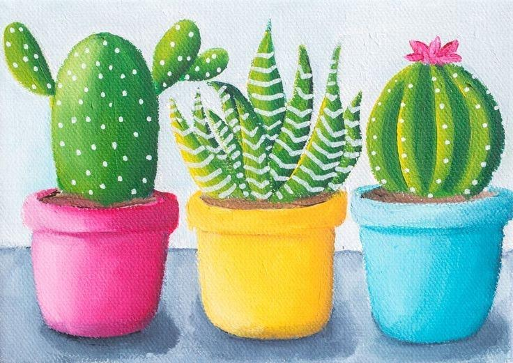 Paint & Relax Kaktusi