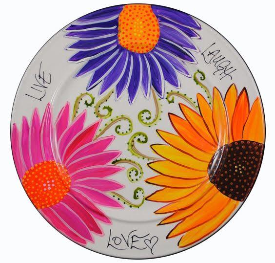 Slikanje na tanjirima