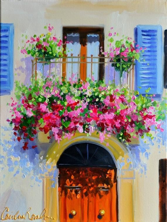 Paint & Relax_Slikanje na platnu_Balkon