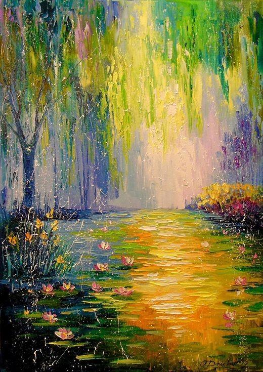 Paint & Relax_Slikanje na platnu_Zalazak