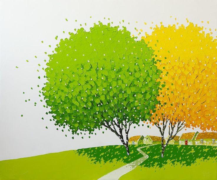 Paint & Relax - Drveće