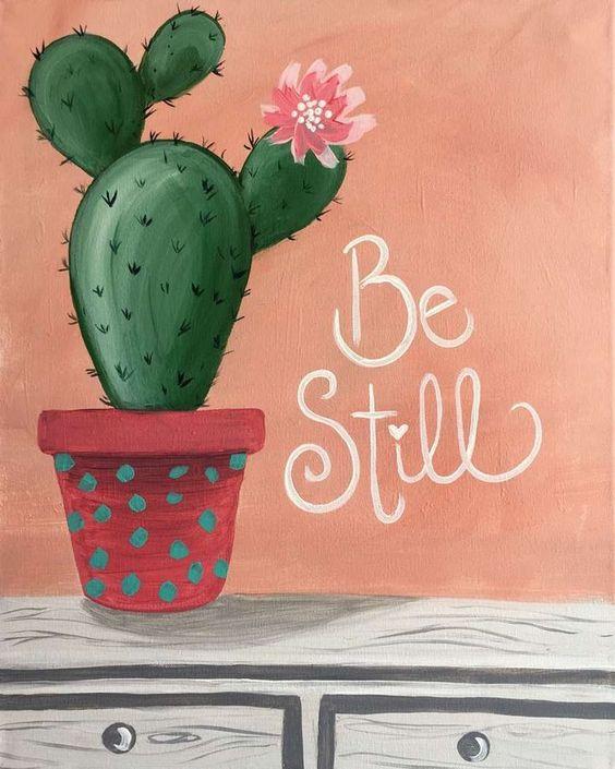 Paint & Relax - Kaktus