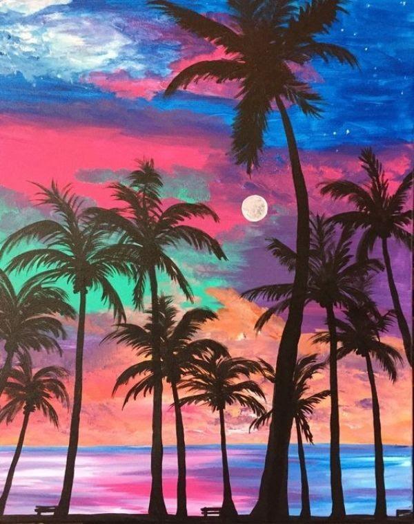 Paint & Relax Palme