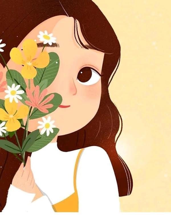 Paint & Relax online i studio Devojčica