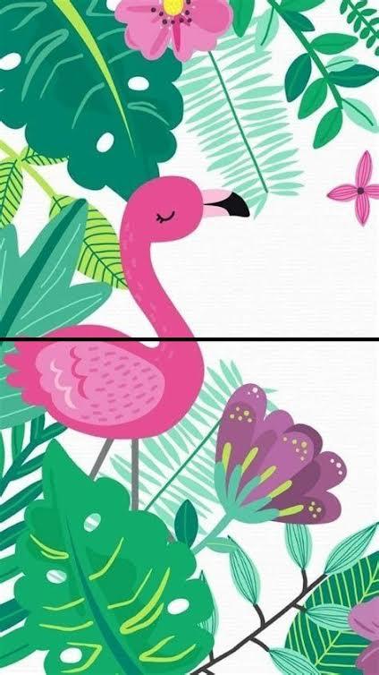 Roditelji i deca slikaju Flamingo