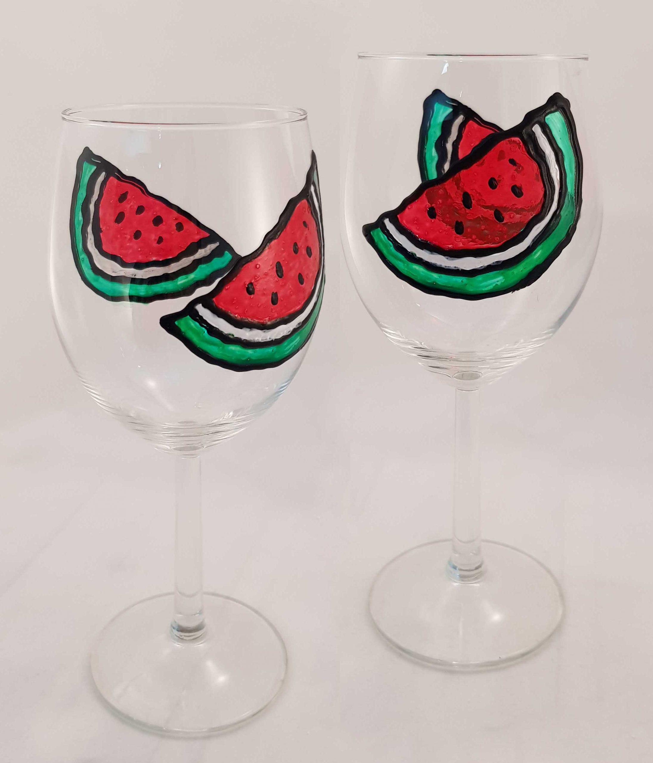 Paint & Relax_Slikanje na čašama